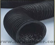 ท่อผ้าใบสีดำล้วน